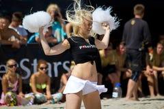 Χορεύοντας μαζορέτα Στοκ Εικόνες