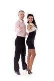 χορεύοντας νεολαίες ζ&eps στοκ φωτογραφία με δικαίωμα ελεύθερης χρήσης
