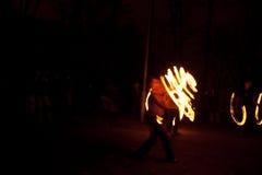 χορεύοντας οδός εκτελ&ep Στοκ φωτογραφία με δικαίωμα ελεύθερης χρήσης