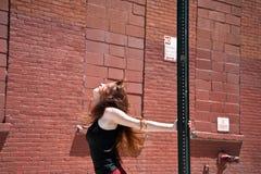 χορεύοντας οδός κοριτσιών Στοκ Εικόνες