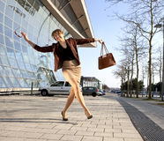 χορεύοντας οδός Στοκ φωτογραφία με δικαίωμα ελεύθερης χρήσης