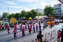 Χορεύοντας παρέλαση Στοκ φωτογραφία με δικαίωμα ελεύθερης χρήσης