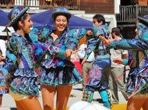 χορεύοντας περουβιανό&sigmaf Στοκ φωτογραφία με δικαίωμα ελεύθερης χρήσης