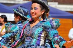 χορεύοντας περουβιανό&sigmaf Στοκ Φωτογραφίες