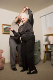 χορεύοντας πρεσβύτερος ζευγών Στοκ εικόνα με δικαίωμα ελεύθερης χρήσης
