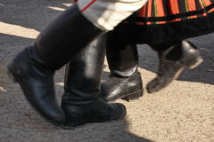 Χορεύοντας πόδια Στοκ Φωτογραφίες
