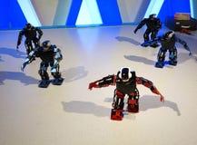 Χορεύοντας ρομπότ Στοκ Φωτογραφίες