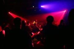 χορεύοντας σκιαγραφίε&sigma Στοκ Φωτογραφία