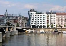 χορεύοντας σπίτι Πράγα Στοκ εικόνες με δικαίωμα ελεύθερης χρήσης
