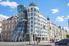 Χορεύοντας σπίτι στην Πράγα, Δημοκρατία της Τσεχίας Στοκ φωτογραφίες με δικαίωμα ελεύθερης χρήσης