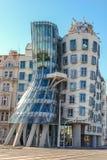 Χορεύοντας σπίτι στην Πράγα. Τσεχία Στοκ εικόνες με δικαίωμα ελεύθερης χρήσης