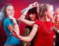 Χορεύοντας συμβαλλόμενο μέρος Στοκ εικόνα με δικαίωμα ελεύθερης χρήσης