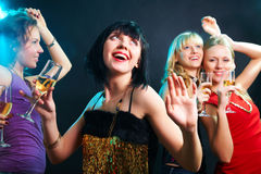 Χορεύοντας συμβαλλόμενο μέρος Στοκ Φωτογραφία