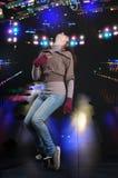 χορεύοντας συμβαλλόμεν Στοκ Εικόνες