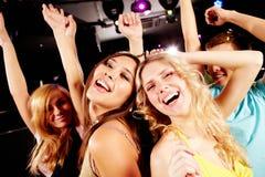 χορεύοντας συμβαλλόμεν Στοκ εικόνα με δικαίωμα ελεύθερης χρήσης