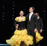 Χορεύοντας συνεργάτης Στοκ εικόνα με δικαίωμα ελεύθερης χρήσης