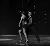 Χορεύοντας συνεργάτης Στοκ φωτογραφία με δικαίωμα ελεύθερης χρήσης