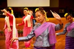 χορεύοντας Ταϊλανδός Στοκ Εικόνες
