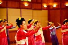 χορεύοντας Ταϊλανδός Στοκ Φωτογραφία