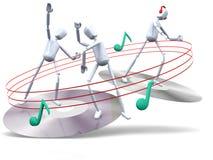 χορεύοντας τύποι απεικόνιση αποθεμάτων
