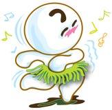 Χορεύοντας Χαβάη Στοκ εικόνες με δικαίωμα ελεύθερης χρήσης