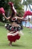 Χορεύτρια Tahitian Στοκ φωτογραφία με δικαίωμα ελεύθερης χρήσης