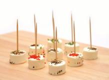 χορτάρια αιγών τυριών Στοκ Εικόνες