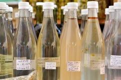 Χορτάρια στα μπουκάλια Στοκ εικόνες με δικαίωμα ελεύθερης χρήσης