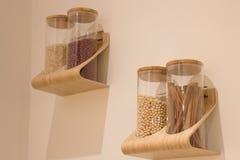 Χορτάρι καρυκευμάτων στα μπουκάλια γυαλιού Στοκ εικόνα με δικαίωμα ελεύθερης χρήσης