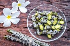 Χορτάρι cordifolia Tinospora Στοκ φωτογραφίες με δικαίωμα ελεύθερης χρήσης