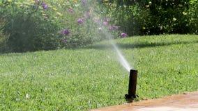 Χορτοτάπητας ποτίσματος ψεκαστήρων άρδευσης κήπων φιλμ μικρού μήκους
