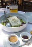 Χορτοφάγα τρόφιμα της Νίκαιας σε έναν πίνακα Στοκ εικόνες με δικαίωμα ελεύθερης χρήσης