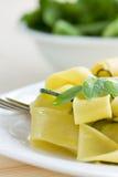 χορτοφάγος ζυμαρικών Στοκ Εικόνες