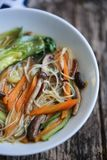 Χορτοφάγος η σούπα Στοκ Εικόνες