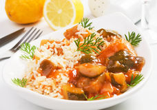 χορτοφάγος λαχανικών ρυ&z Στοκ Φωτογραφίες