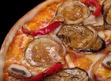 Χορτοφάγος πίτσα Στοκ Εικόνες