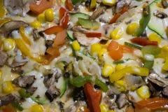Χορτοφάγος πίτσα Στοκ εικόνες με δικαίωμα ελεύθερης χρήσης