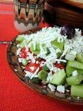 χορτοφάγος σαλάτας Στοκ Εικόνες