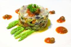 χορτοφάγος σαλάτας στοκ φωτογραφία