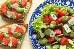 Χορτοφάγος σαλάτα Στοκ φωτογραφίες με δικαίωμα ελεύθερης χρήσης