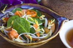 Χορτοφάγος σαλάτα Στοκ Εικόνα