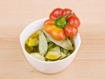 χορτοφάγος σούπας κύπελ στοκ φωτογραφία με δικαίωμα ελεύθερης χρήσης