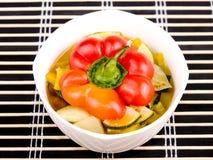χορτοφάγος σούπας κύπελ Στοκ εικόνα με δικαίωμα ελεύθερης χρήσης