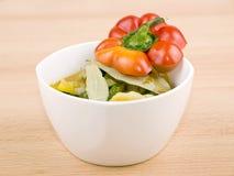 χορτοφάγος σούπας κύπελ στοκ εικόνες