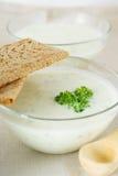 χορτοφάγος σούπας πουρέ στοκ φωτογραφίες με δικαίωμα ελεύθερης χρήσης