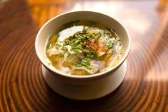 Χορτοφάγος φυτική σούπα Στοκ Φωτογραφίες