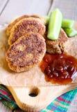 Χορτοφάγος falafel Στοκ εικόνα με δικαίωμα ελεύθερης χρήσης