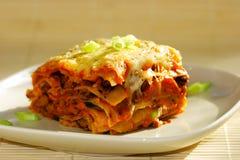 χορτοφάγος lasagna Στοκ φωτογραφία με δικαίωμα ελεύθερης χρήσης