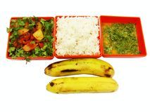 Χορτοφάγο γεύμα Στοκ Εικόνα
