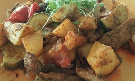 Χορτοφάγο γεύμα Στοκ Φωτογραφία